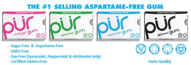 Pur Gum Aspartame-Free gum