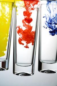 Dye in Water