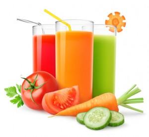 Fresh vegetable juice cleanse
